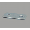 Fastening plate for 45x45 profile with 10mm slot – With fixings