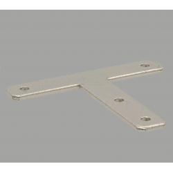 T-shaped fastening plate for profile with 10mm slot