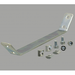 Support plate for 30x30 profile with 8mm slot