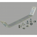 Support plate for 40x40 profile with 10mm slot
