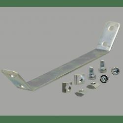 Plaque de renfort pour profilés 40x40 fente de 10 mm