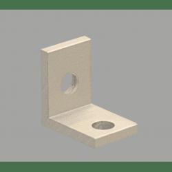 Equerre fine pour profilé aluminium 40 fente de 10 mm
