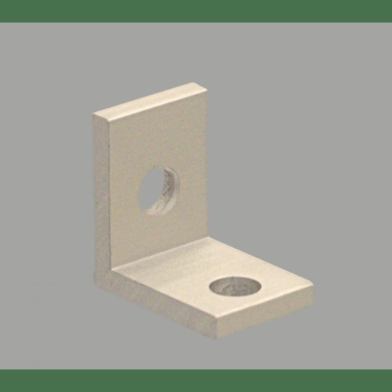 Slim bracket for 40 aluminium profile 10mm slot