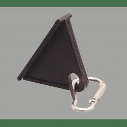 Crochet coulissant et mousqueton pour profilé à fente de 6 mm