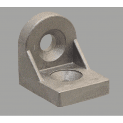 Tilting bracket for 45x45 profiles