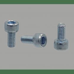 Pack of 10 fastening screws for 10mm slot profiles – M8 threading – Socket cap screw