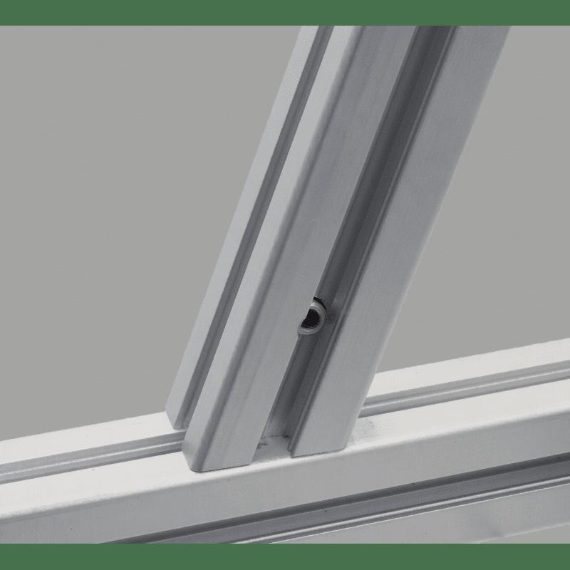 Raccord d'angle pour profilés à fente de 10 mm