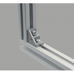 Fastening bracket for 10mm profiles with fastening hole – for 40 or 80 profiles