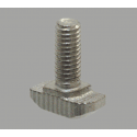 Post-assembly M5 fastening bolts for profiles with 6mm slot