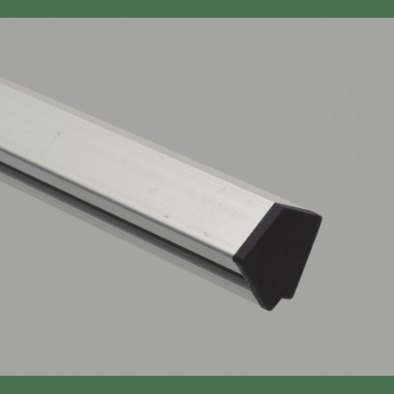 Embout de protection pour profilé 30x30 angle de 45° - fente de 8 mm - Noir