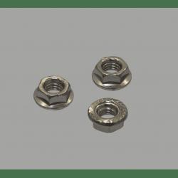 Lot de 10 écrous pour boulon de fixation M6 pour profilés à fente de 8 mm