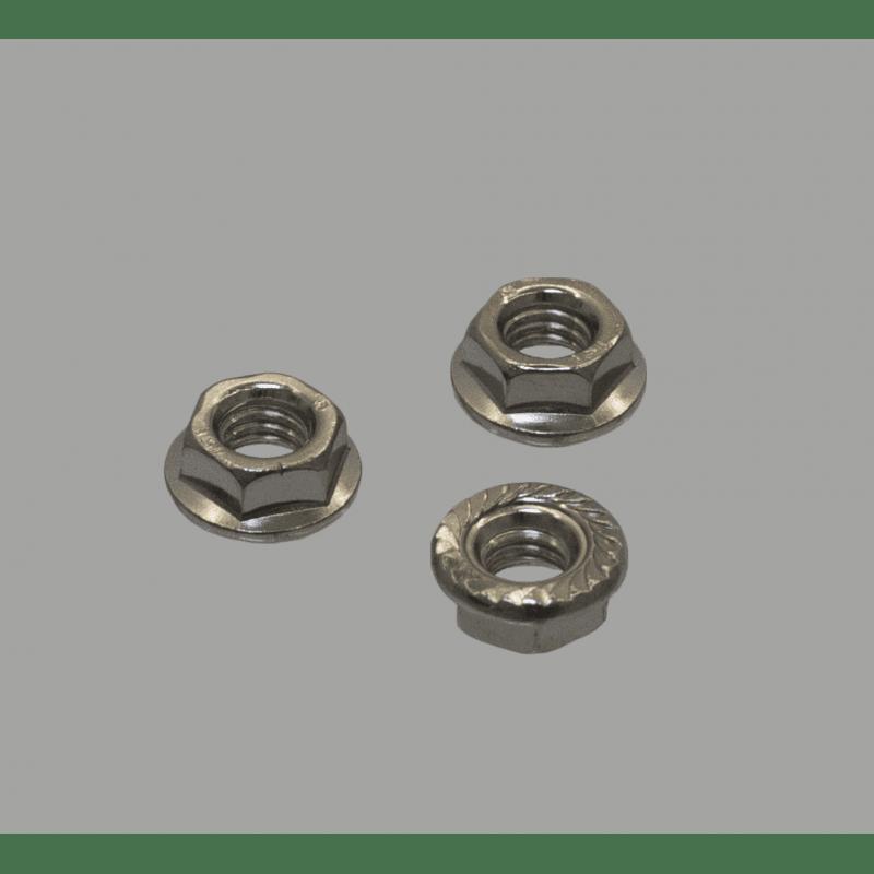 Lot de 10 écrous pour boulon de fixation M5 pour profilés à fente de 6 mm