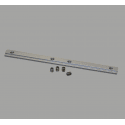 Long aluminium nuts for 40x40 profiles with 8mm slot – screws included