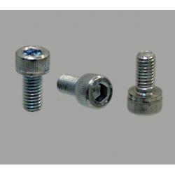 Lot de 10 vis de fixation pour profilé à fente de 8mm - Filetage M5 - Tête à six pans creux