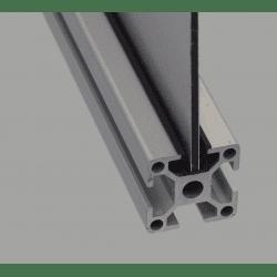 Frame profile – 8mm slot