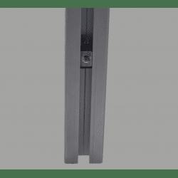 Lot de 10 écrous de fixation avec fonction de maintien provisoire pour profilés à fente de 8 mm - Taraudage M5