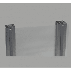 Fabric holder clip – for 10mm slot profile