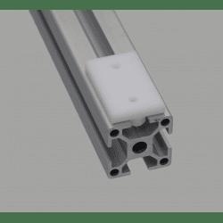 Patin de glissement pour profilés 6 mm