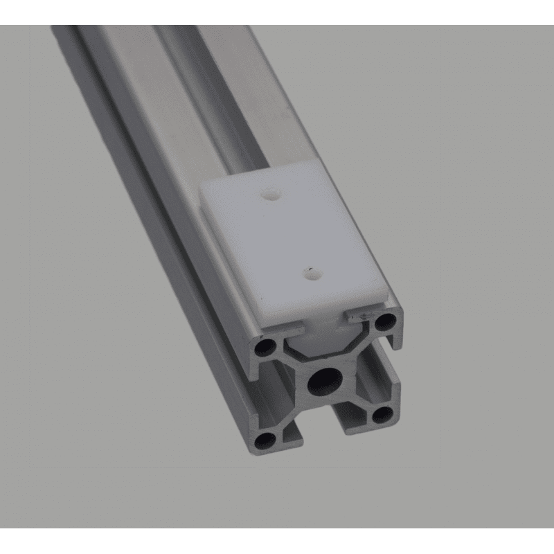 Patin de glissement pour profilés 10 mm - forme en T