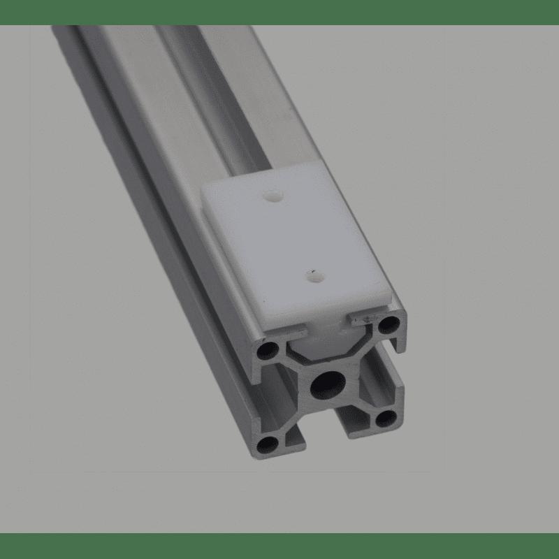 Patin de glissement pour profilés 8 mm - forme en T
