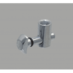 Quick connector for 8 mm slot - 0° angle