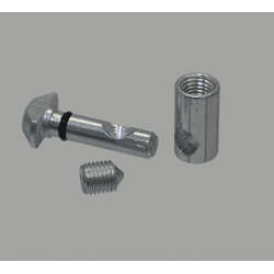 Quick connector for 10 mm slot - 90° angle