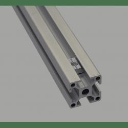 Lot de 10 écrous de fixation pour profilés à fente de 10 mm - Taraudage M8