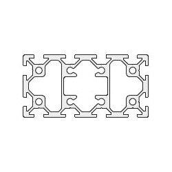 Profilé aluminium 40x80 fente 6 mm
