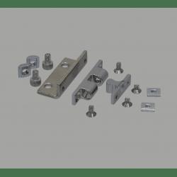 Loquet pour profilé aluminium fente 6 mm + visserie