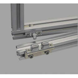 Catch for aluminium profile 10mm slot + fixings