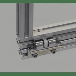 Catch for aluminium profile 8mm slot + fixings
