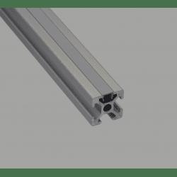 Cache fente gris - 8 mm
