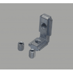Inner fastening bracket for profile with 10mm slot