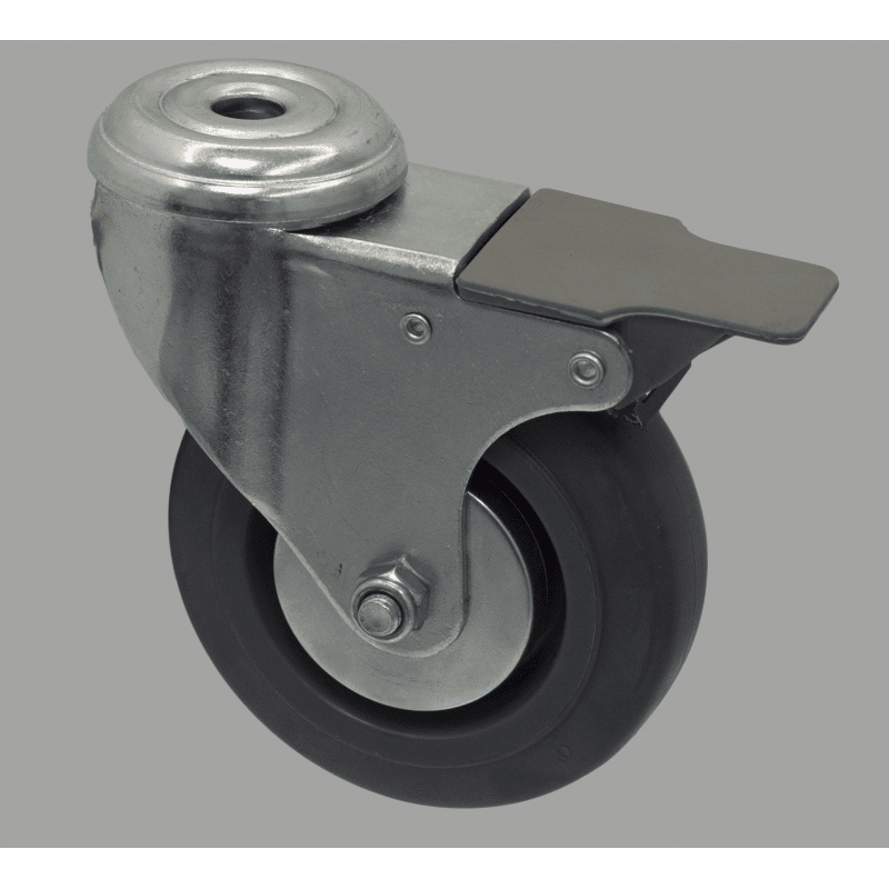 Wheel 100 kg load - with brake