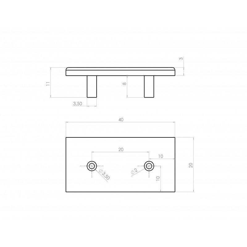 /écrou Carr/é Bloc /écrou Coulissant Pour 30 S/éries Profil/é En Aluminium Mod/èle Fente M8 M6 10*10*6mm Serie 20