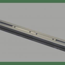 Ecrou long en acier pour profilés à fente de 8 mm - Vis incluses
