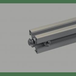 Joint de serrage rapide pour profilé à fente de 10 mm - angle 0°