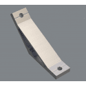 Fastening bracket 135° for 10 mm profile with one groove