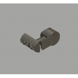 Universal connector for 8mm slot profile
