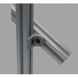 Tilting bracket for 30x30 profiles