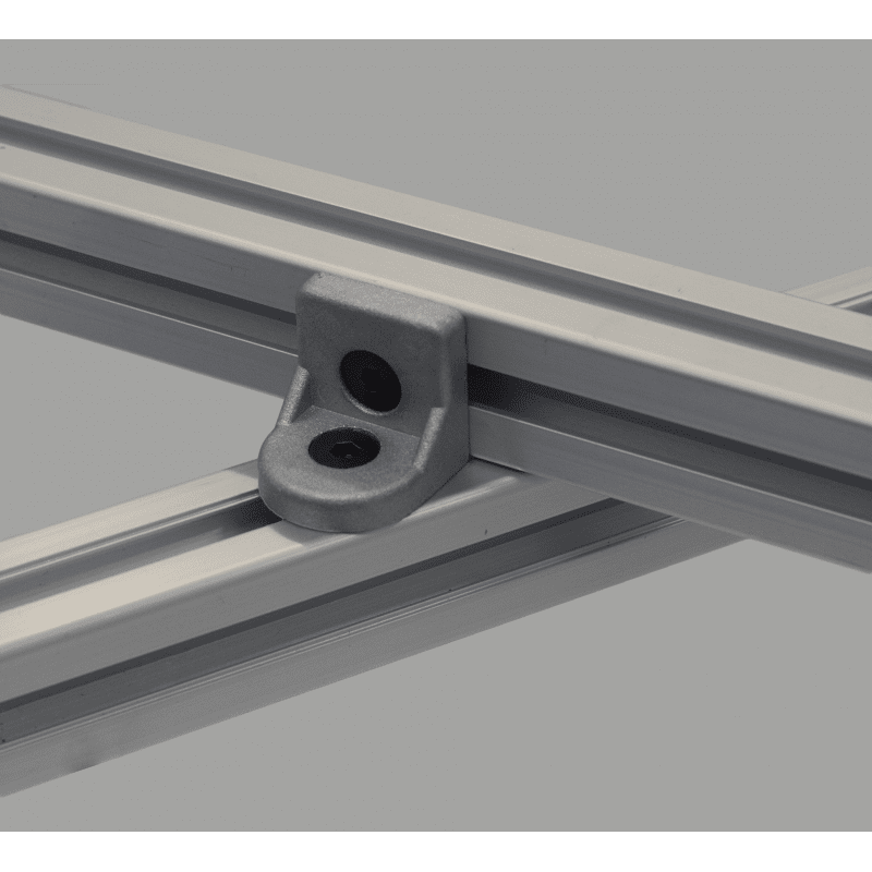 Tilting bracket for 30x30 profiles