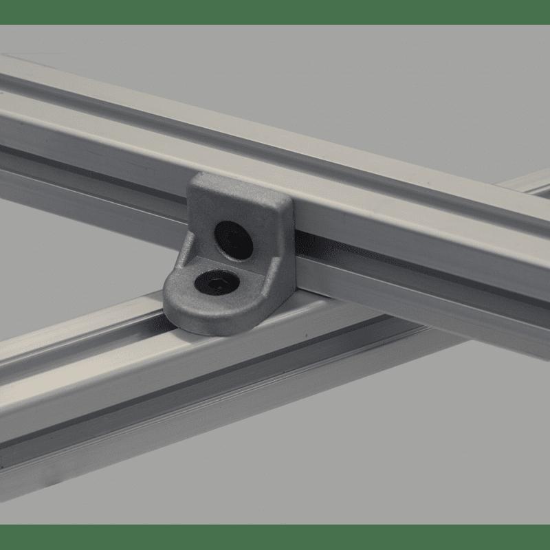 Tilting bracket for 40x40 profiles
