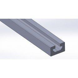 Aluminium profile 30x18 10mm slot