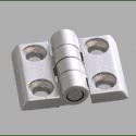 Charnière métallique pour profilé 30x30 fente de 8 mm