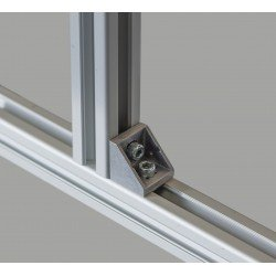 Fastening bracket 18x18 for 6mm profile