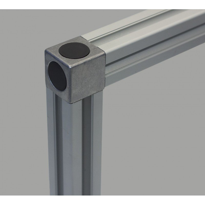 Assembly connector – two 10mm profiles