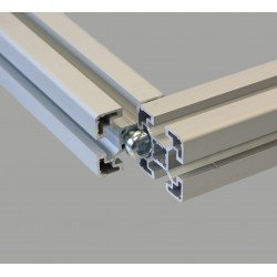 Central screw for profile with 10 mm slot