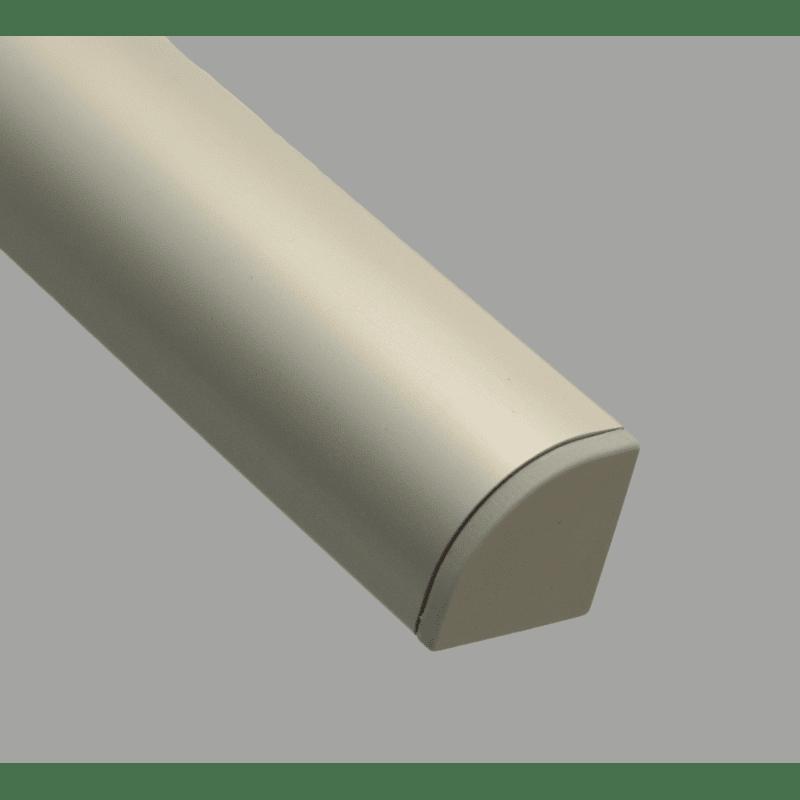 Protective cap for round 40x40 profiles – Grey