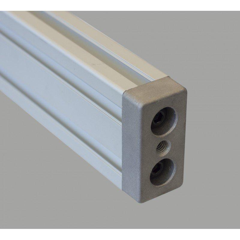 Plate 40x80 - M8 Thread