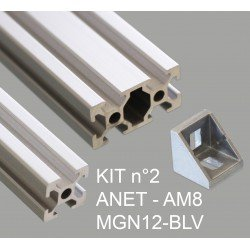 KIT n°2 - ANET AM8 MGN12-BLV